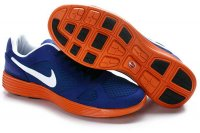Nike Lunar Mariah TZ Blue White Orange Mens Shoes