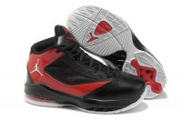 Air Jordan Melo Women black red Shoes