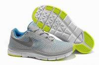 Nike Free 3.0 V4 Gray Sapphire Blue Green Shoes