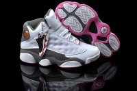 AIR JORDAN 13 Women White Shoes 2013-1-17