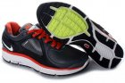 Nike LunarEclipse+ Leather Black White Red Womens Shoes
