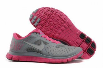 Nike Free 4.0 V2 Gray Pink Shoes