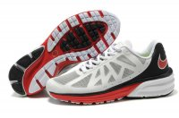 Nike LunarHaze+ White Black Red Mens Shoes
