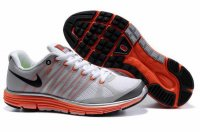 Nike LunarElite+ 2 White Orange Black Mens Shoes 429784 017