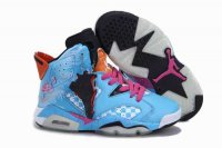 Air Jordan Retro 6 Women Shoes-3