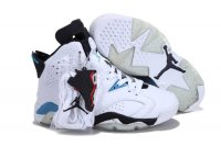 AIR JORDAN 6 Women White Shoes 2013-1-17